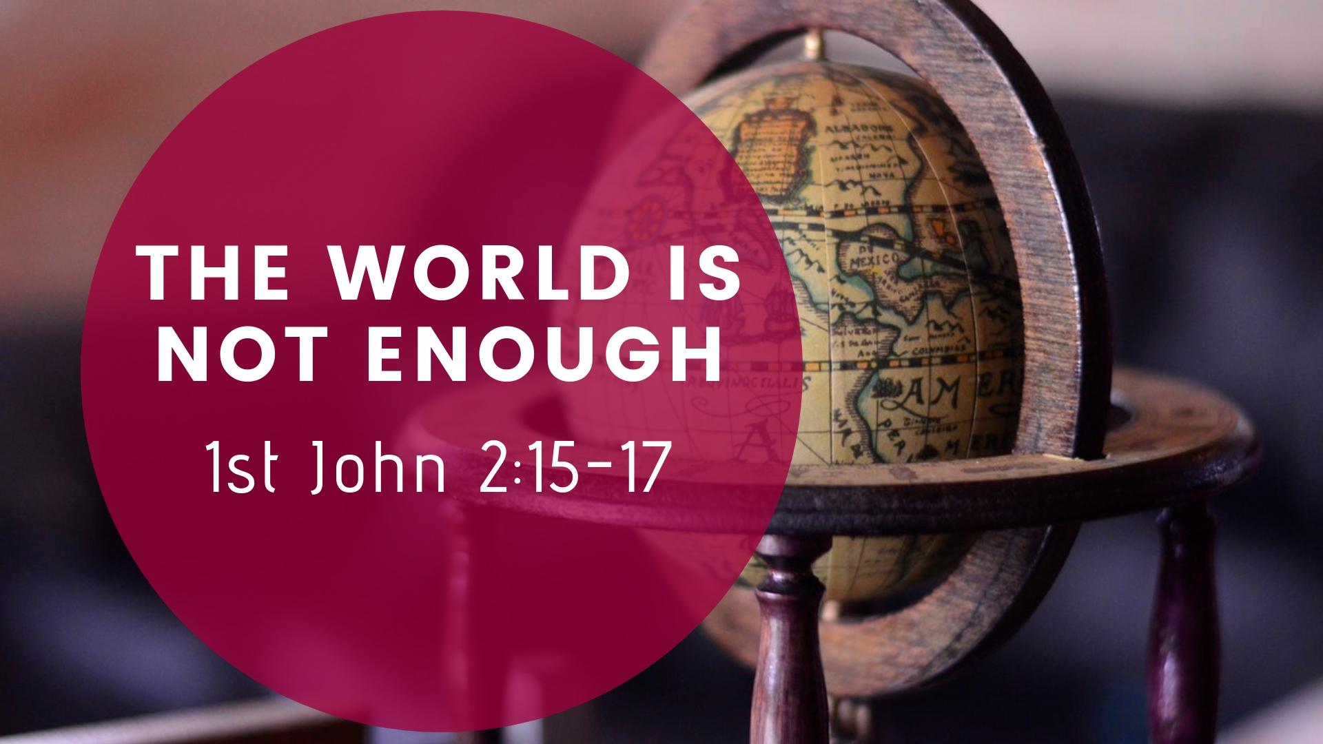 1 John 2_15-17