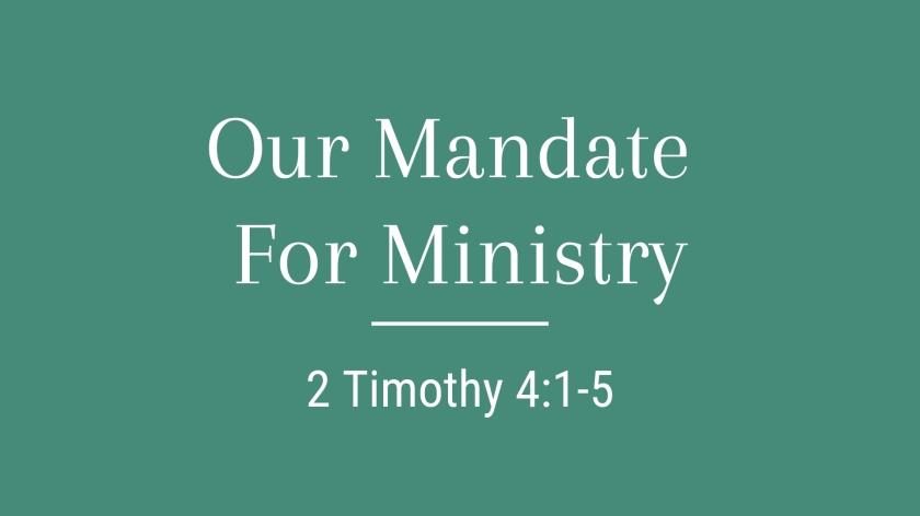 Sermon of the Week – Late Night Theology